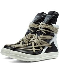 Rick Owens Geobasket Sneaker - Black