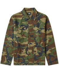 Stussy - Military Shirt - Lyst