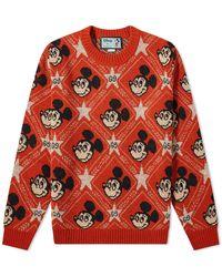 Gucci X Disney Wool Jumper - Orange