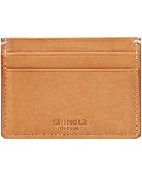 Shinola - 5 Pocket Card Case - Lyst