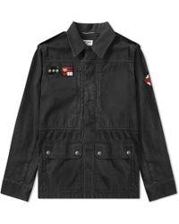 Saint Laurent - Patch Military Jacket - Lyst