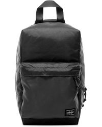Porter Force Sling Shoulder Bag - Black