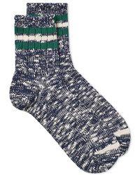 Anonymous Ism - 3 Line Slub Socks - Lyst