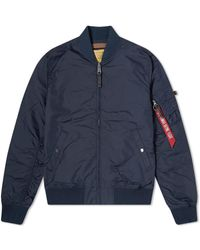 Alpha Industries Ma-1 Tt Jacket - Blue