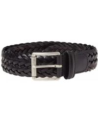 Andersons - Anderson's Woven Leather Belt - Lyst