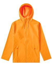 Rains Breaker Jacket - Orange