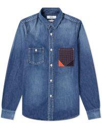 FDMTL - Denim Shirt - Lyst