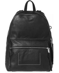 Rick Owens - Leather Backpack - Lyst