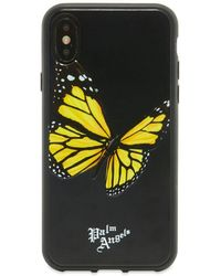 Palm Angels Butterfly Iphone Xs Case - Black