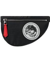 Alexander McQueen Skull Waist Bag - Black