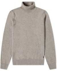 Barbour Leahill Roll Neck Knit - Gray