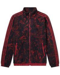 adidas Polar Fleece Aop Track Top - Red