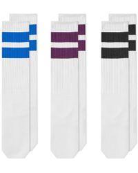 Neighborhood - Classic Long Sock - 3 Pack - Lyst