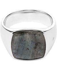 Tom Wood Cushion Ring - Metallic