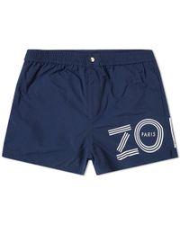 KENZO Nylon Swim Short - Blue