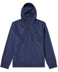 Soulland - Newill Popover Nylon Hood Jacket - Lyst