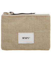 WTAPS Cream Wallet - Natural