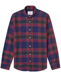 Portuguese Flannel - Philadelphia Button Down Check Shirt - Lyst