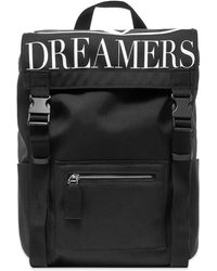 Valentino Garavani Vlogo Dreamers Nylon Backpack - Black