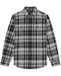 Filson Checked Scout Shirt - Black