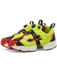 Reebok X Adidas Instapump Fury Boost - Yellow