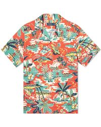 Polo Ralph Lauren - Short Sleeve Vintage Palm Vacation Shirt - Lyst