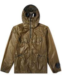 C P Company - Nyber Zip Goggle Jacket - Lyst