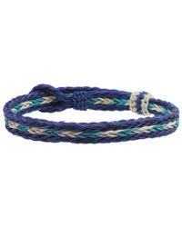 Chamula - Braided Horsehair Bracelet - Lyst