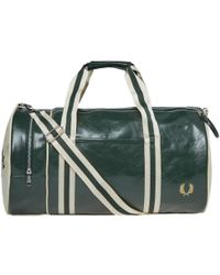 Fred Perry Authentic - Fred Perry Classic Barrel Bag - Lyst