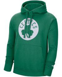 "Nike - Sweatshirt ""NBA Boston Celtics"" mit Kapuze - Lyst"