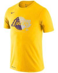 "Nike Basketballshirt ""NBA Los Angeles Lakers"" - Gelb"