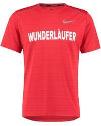 Nike Miler T-Shirt Herren - Rot