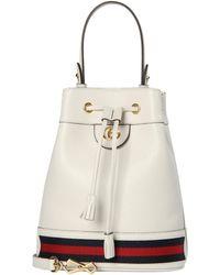 """Gucci Henkeltasche """"Ophidia Bucket Bag"""" Klein - Weiß"""