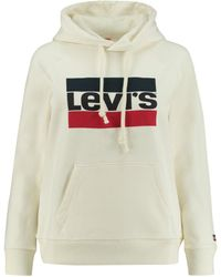 "Levi's - Kapuzensweatshirt ""Graphic Sport Hoodie"" Langarm - Lyst"