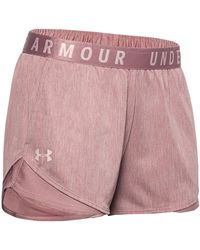 """Under Armour Trainingsshorts """"Play Up Short 3.0 Twist"""" - Pink"""