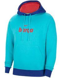 "Nike Sweatshirt ""FC Barcelona"" - Blau"