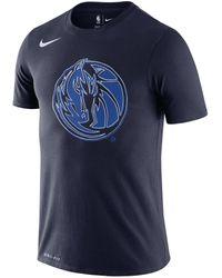 "Nike - Basketball-Shirt ""NBA Mavericks"" Kurzarm - Lyst"