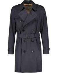 "Burberry - Trenchcoat ""Kensington"" - Lyst"