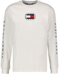 "Tommy Hilfiger Shirt ""TJM Longsleeve Box"" - Weiß"