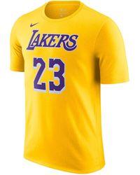 "Nike Basketballshirt ""Lakers NBA"" - Gelb"