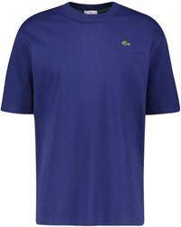 Lacoste L!ive T-Shirt - Blau