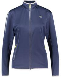 """Dunlop Tennisjacke """"Knitted Jacket"""" - Blau"""