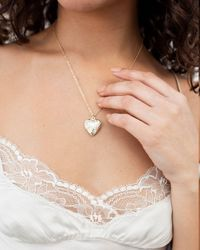 En Route Jewelry Bad Boys Heart Locket Necklace - Natural