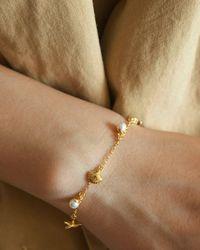 En Route Jewelry Ocean Charm Bracelet - Multicolor