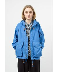 Engineered Garments - Sky Blue Pc Poplin Atlantic Parka - Lyst