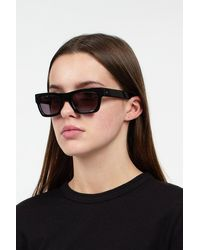 Sun Buddies - Greta Black Sunglasses - Lyst