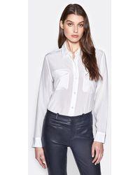 Equipment Signature Silk Shirt - White