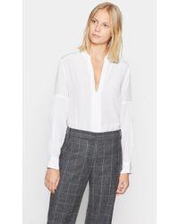 Equipment - Estella Silk Shirt - Lyst