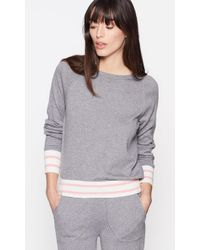 Equipment - Axel Cropped Tennis Jumper - Lyst