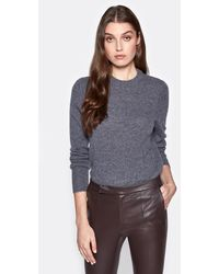 Equipment Sanni Cashmere Crew Neck Jumper By - Grey